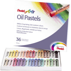 Étui de 36 pastels à huile PHN4 - PentelArts