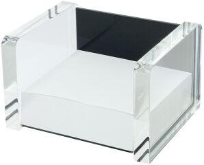 WEDO Bloc cube avec boîtier 'acrylique exclusif',transparent
