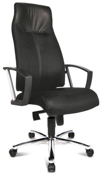 topstar fauteuil de direction 39 high sit up 39 orange incl achat vente topstar 76500221. Black Bedroom Furniture Sets. Home Design Ideas