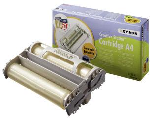 Cassette avec rouleau de film Xyron A4
