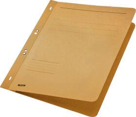 LEITZ chemise à oeillet, carton manila, format A4, rouge