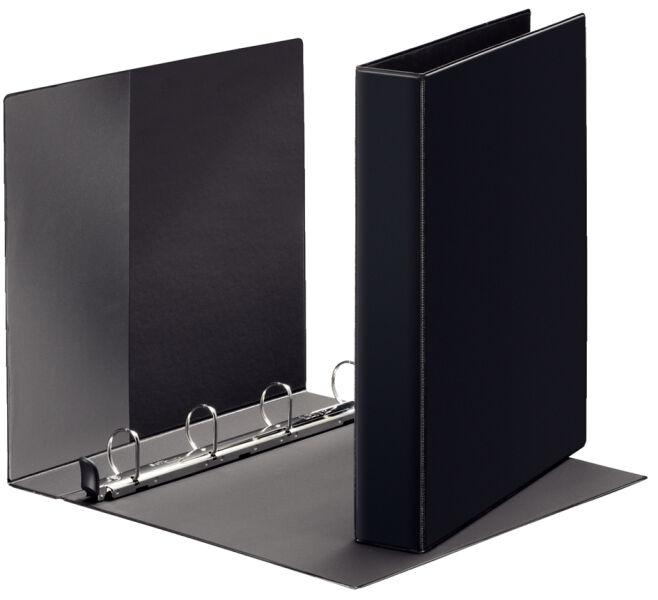 classeur a4 noir 4 anneaux leitz. Black Bedroom Furniture Sets. Home Design Ideas