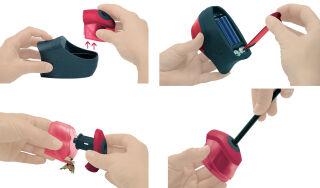 Maped taille-crayon électrique Turbo Twist, noir/rouge