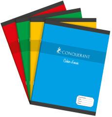 Petit Cahier - 17x22 cm - Grands Carreaux - 48 pages