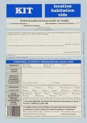 WEBER Formulaire français 'Kit de location-habitation vide'