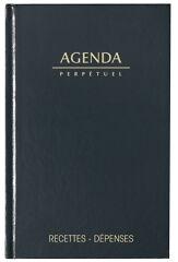 LECAS Agenda perpétuel Recettes - Dépenses
