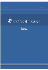 Bloc-notes A6 - 100 feuilles - Petits carreaux
