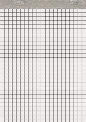 Bloc-notes A4 sans couverture - 100 feuilles - Petits carreaux