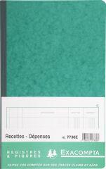 EXACOMPTA Piqûre 'Recettes et dépenses', 210 x 190 mm