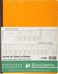 EXACOMPTA Piqûre 'Journal de caisse ou banque', 320 x 250 mm