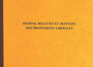 EXACOMPTA Piqûre 'Recettes/Dépenses professions libérales'