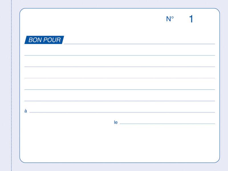 Elve manifold 39 bons pour 39 105 x 140 mm dupli autocopiant for Papeterie buro plus