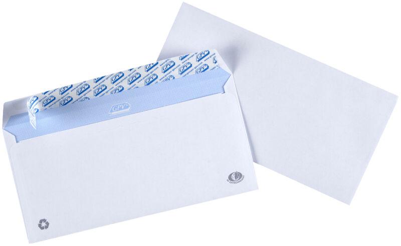 Gpv enveloppes c4 229 x 324 mm avec fen tre droite for Enveloppe c4 avec fenetre
