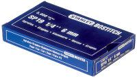 BOSTITCH Agrafes SP 19 1/4, 6 mm, galvanisé