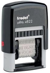 trodat Tampon multiformules Printy 4822A, pour secrétariat