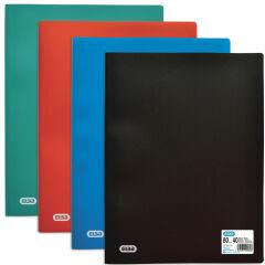 ELBA Protège-documents INITIAL, A4, 50 pochettes, noir