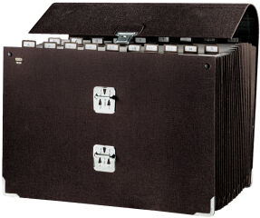 emey Trieur accordéon 1650, 20 compartiments, onglets A - Z