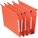 Esselte Dossiers suspendus Dual, fond: 50 mm, orange