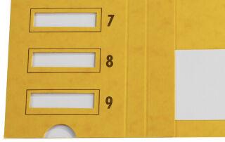 emey Trieur Junior, 24 compartiments, numérique et alphabé-