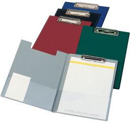 ELBA Porte-bloc à Couverture et Pince, PVC, couleurs