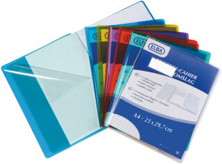 ELBA Protège-cahier Cristal Luxe 240 x 320 mm, incolore
