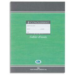 Petit Cahier - 17x22 cm - Grands Carreaux - 96 pages