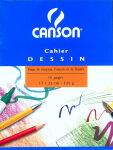 CANSON Cahier dessin, uni, 125 g/m2, 240 x 320 mm,