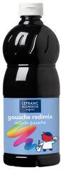 LEFRANC & BOURGEOIS Gouache liquide 1.000 ml, noir