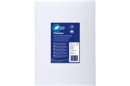 AF feuilles de nettoyage pour fax & imprimantes 'Printclene'