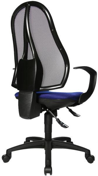 topstar fauteuil de bureau 39 open point sy 39 bleu royal achat vente topstar 76500249. Black Bedroom Furniture Sets. Home Design Ideas