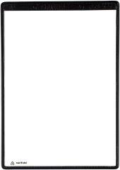 tarifold tview poche transparente magnétique,format A4, noir