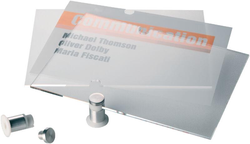 accessoire durable film crystal sign recharge pour plaque de porte 4821 achat vente durable. Black Bedroom Furniture Sets. Home Design Ideas