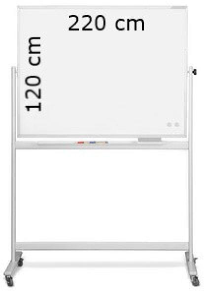 tableau blanc mobile 2200 x 1200 mm o. Black Bedroom Furniture Sets. Home Design Ideas