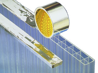 3M ruban en aluminium souple 1436F, 50 mm x 50 m