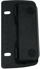 WEDO Perforateur de poche, capacité: 3 feuilles, noir