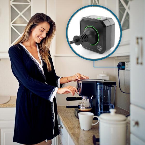 Ansmann prise de courant programmable 39 zerowatt 39 aes1 - Prise electrique programmable ...