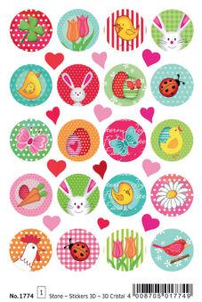 HERMA Stickers de Pâques MAGIC TREND 'Voeux de Pâques'