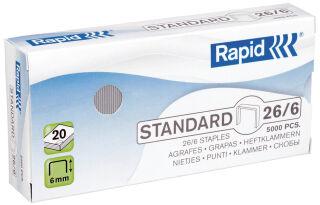 Rapid Agrafes Standard 24/6, cuivré