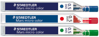STAEDTLER Mines pour porte-mines 'Mars micro color', vert
