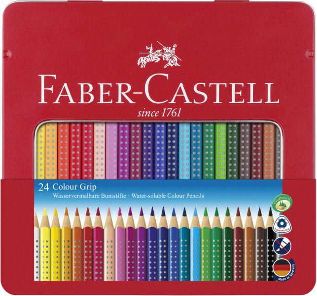 faber castell crayons de couleur colour grip tui de 12. Black Bedroom Furniture Sets. Home Design Ideas