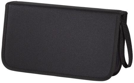 hama Etui pour CD/DVD, nylon, pour 104 CD/DVD, noir