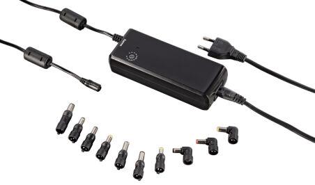 hama Bloc d'alimentation universel pour PC portable, 90 watt