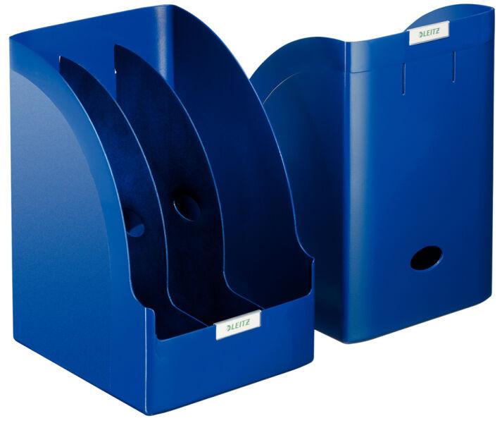 Leitz porte revues plus jumbo a4 polystyr ne bleu for Papeterie buro plus
