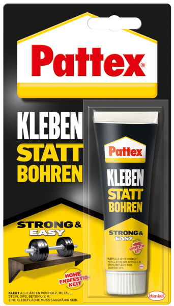 pattex colle forte coller au lieu de percer tube de 50 g achat vente pattex 56071139. Black Bedroom Furniture Sets. Home Design Ideas