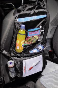 hama Organiseur de voiture avec poche isotherme, noir