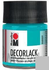 Marabu Vernis acrylique 'Decorlack',argent métallique,50ml