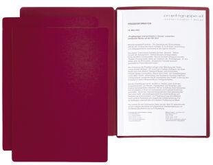 PAGNA chemise de présentation / candidature 'Star', A4,rouge