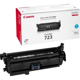 Toner original pour imprimante laser Canon LBP7750cdn, cyan
