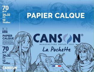 CANSON Calque satin, 240 x 320 mm, 70 g/m2