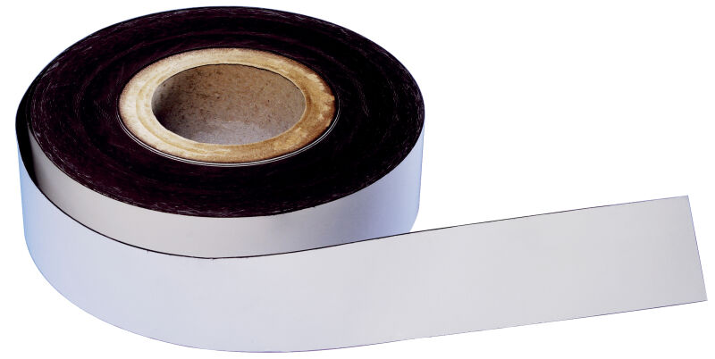 magnetoplan ruban magn tique pvc blanc 20 mm x 30 m. Black Bedroom Furniture Sets. Home Design Ideas